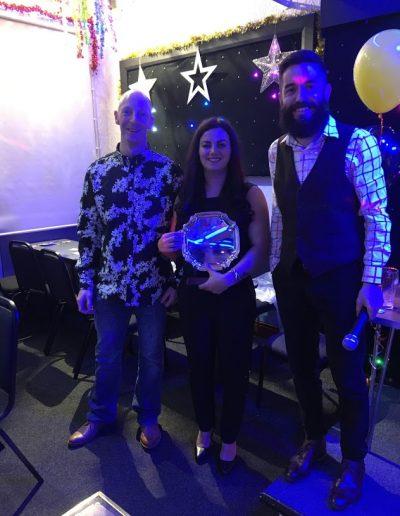 Newcomer's Award - Daniela Dumitrescu